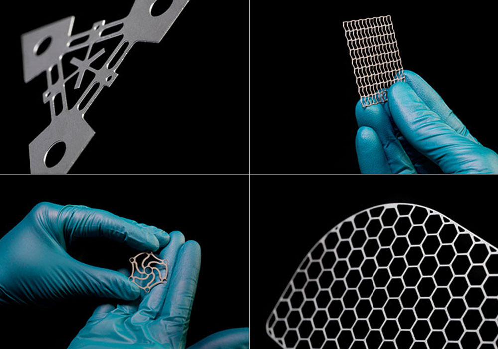 Ätztechnische Präzisionsteile aus Titan für die Medizintechnik